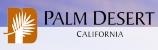 city of Palm Desert logo - small landscape