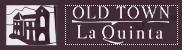 Old Town La Quinta logo - small landscape