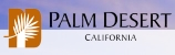 city of Palm Desert logo - small landscape